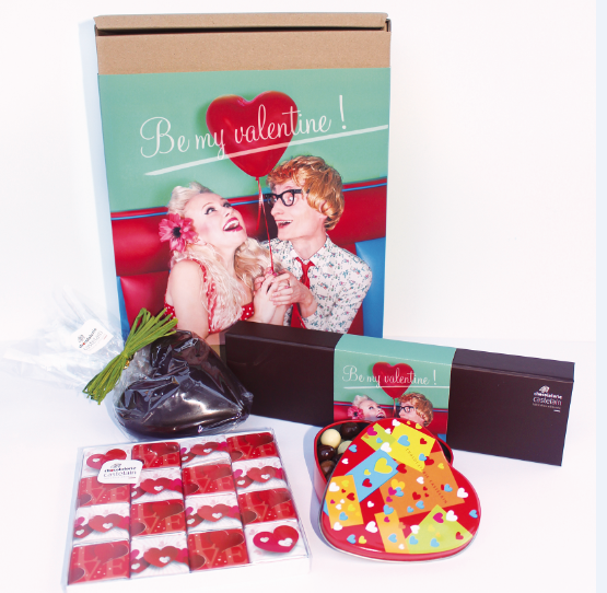 BOX CHOCOLAT CASTELAIN - Paris Frivole