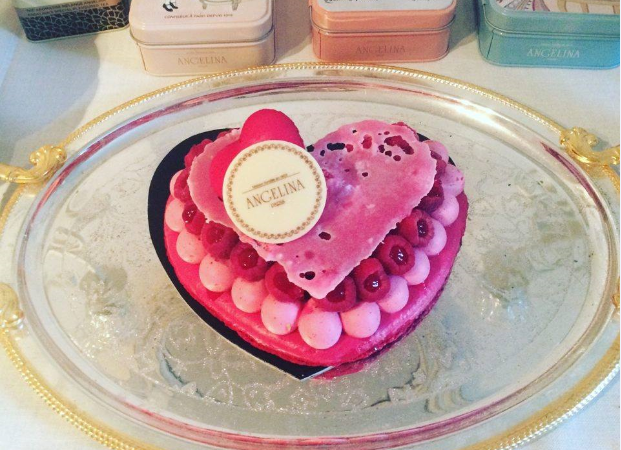 Gâteau coeur à coeur – Angelina – Saint Valentin