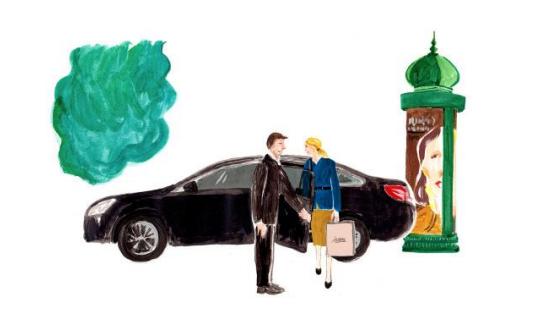 Chauffeur privé – sortir à Paris – la Parisienne élégante
