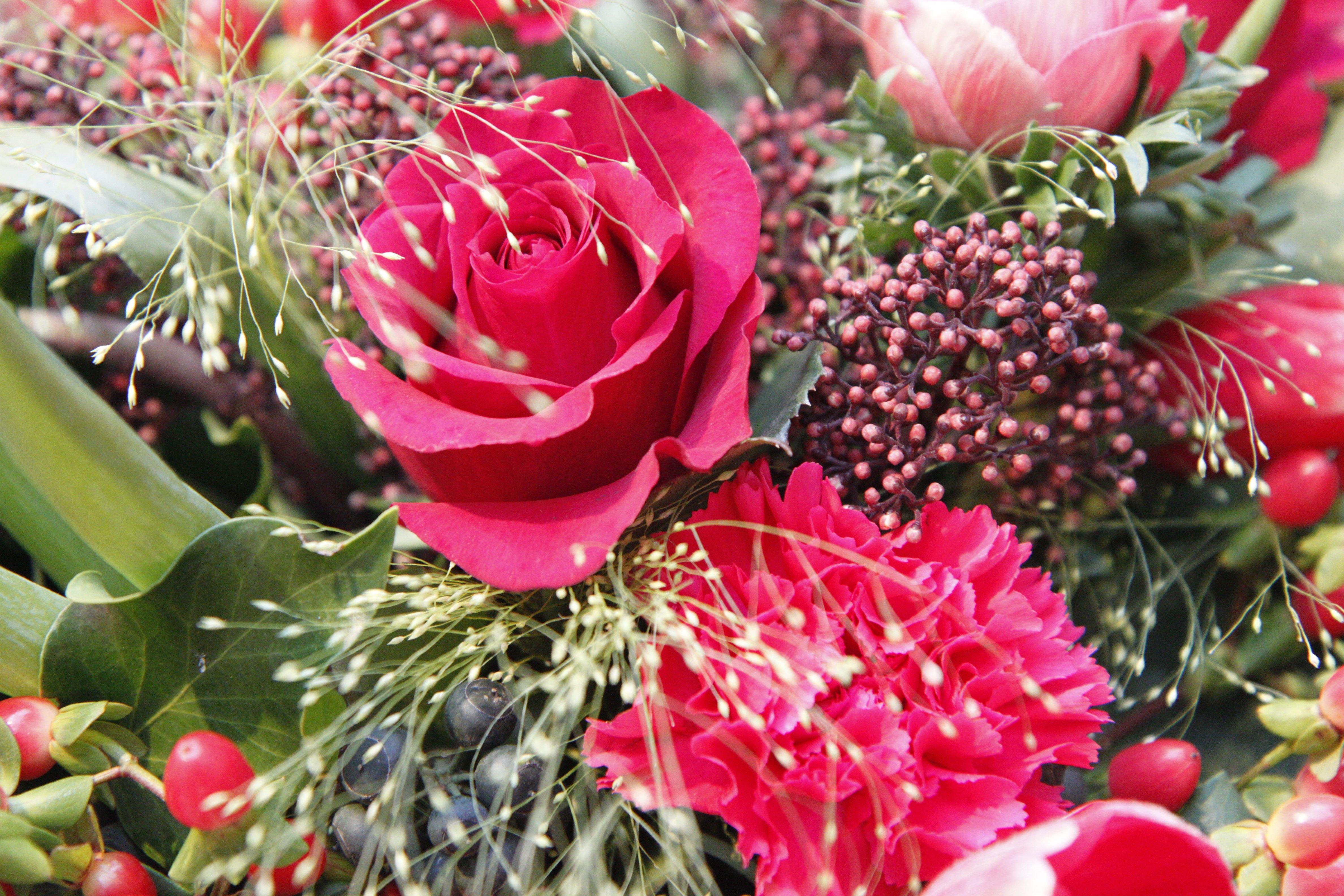 agn s b rouge tout rouge bouquets de fleurs paris frivole. Black Bedroom Furniture Sets. Home Design Ideas