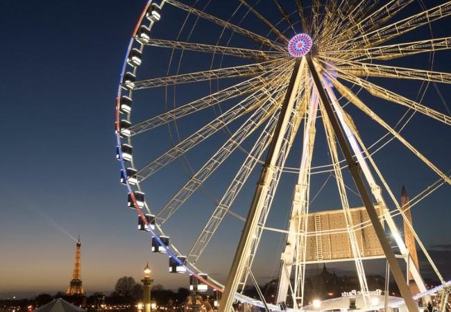 La grande roue de Paris – Place de la Concorde
