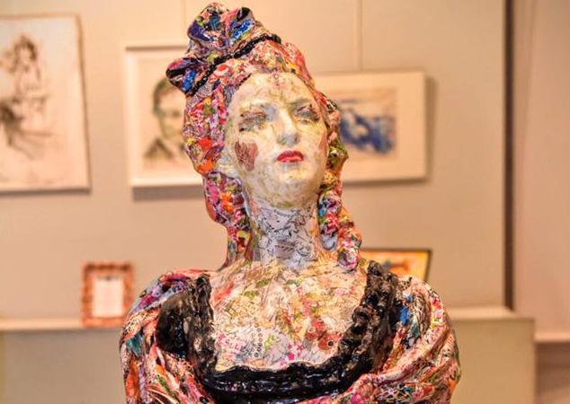 Exposition sculpture et peinture – Valérie Bos – Mairie du 8e