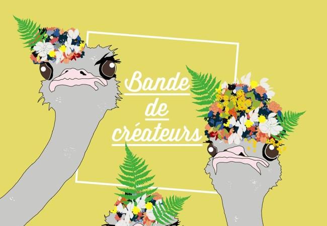 Paris Frivole partenaire de l'événement Bande de Créateurs du 8 au 10 Avril