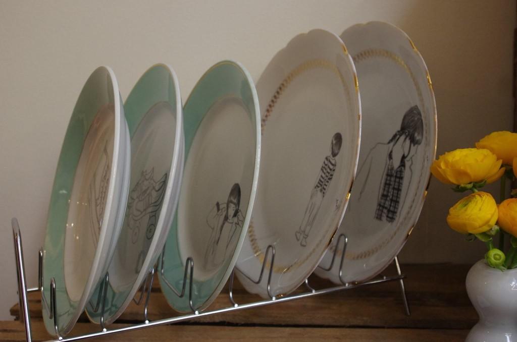 poMMettes - vaisselle vintage