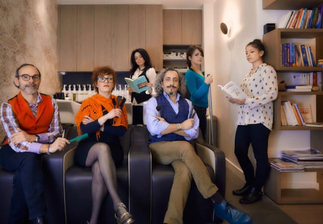Salon de coiffure hors du commun – le Moment Présent – artistes du cheveu