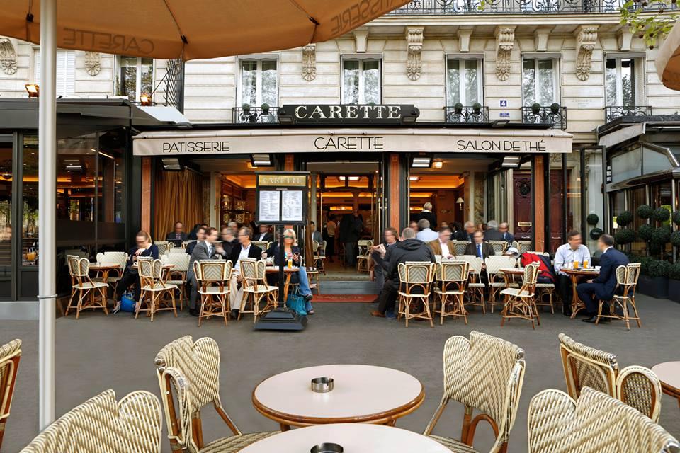 Carette - place du trocadéro - salon de thé