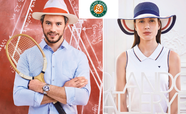 Collection Roland Garros – un look sport chic !