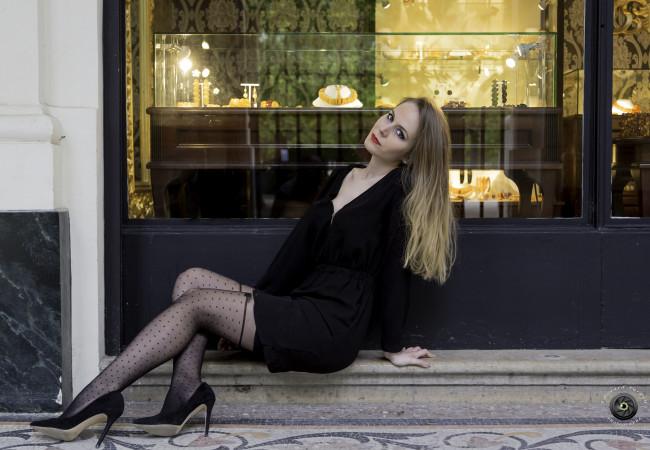 Chantal Thomass – Collant.fr – bas et collants couture – bas-up noeuds et plumetis