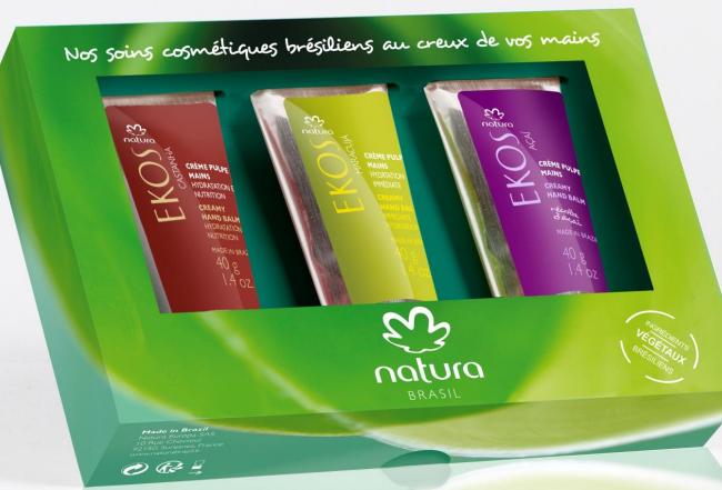Natura Brasil – crème pulpe mains Natura Ekos