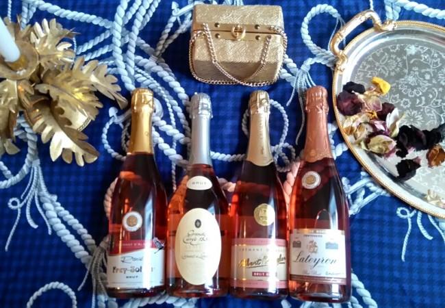 Crémants – rosé – sélection gourmande pour des apéros chics