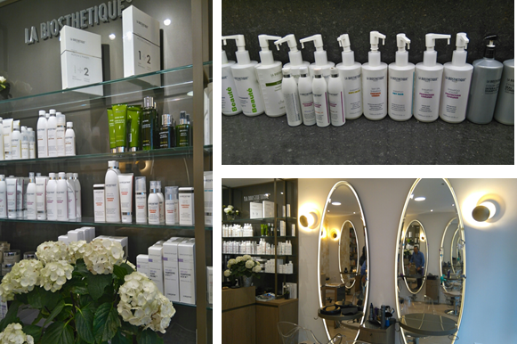 la bioesthetique - salon de coiffure le moment présent
