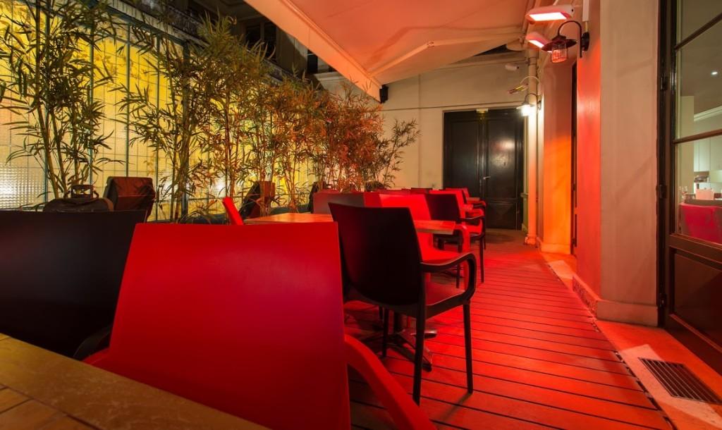 terrasse - Le Moderne - restaurant Paris