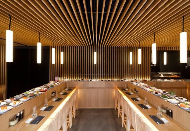 Matsuri – nouvelle carte Printemps / été – restaurant à comptoir tournant