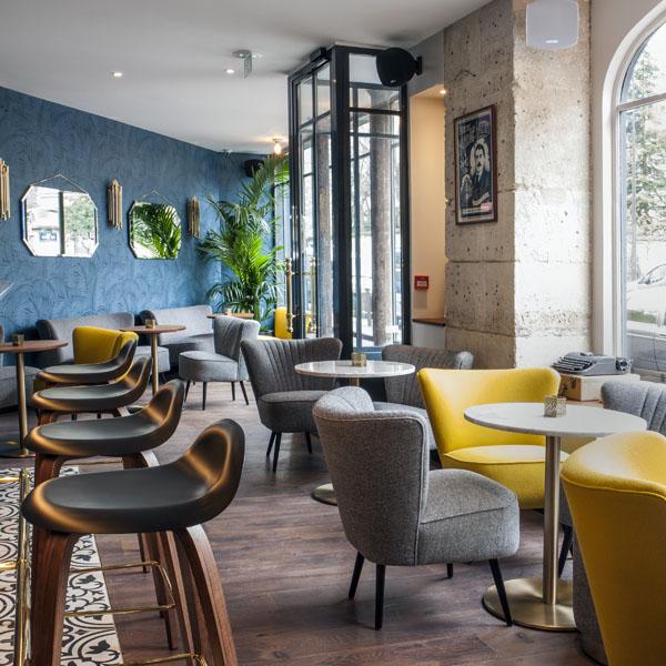Bar André Latin - hôtel parisien