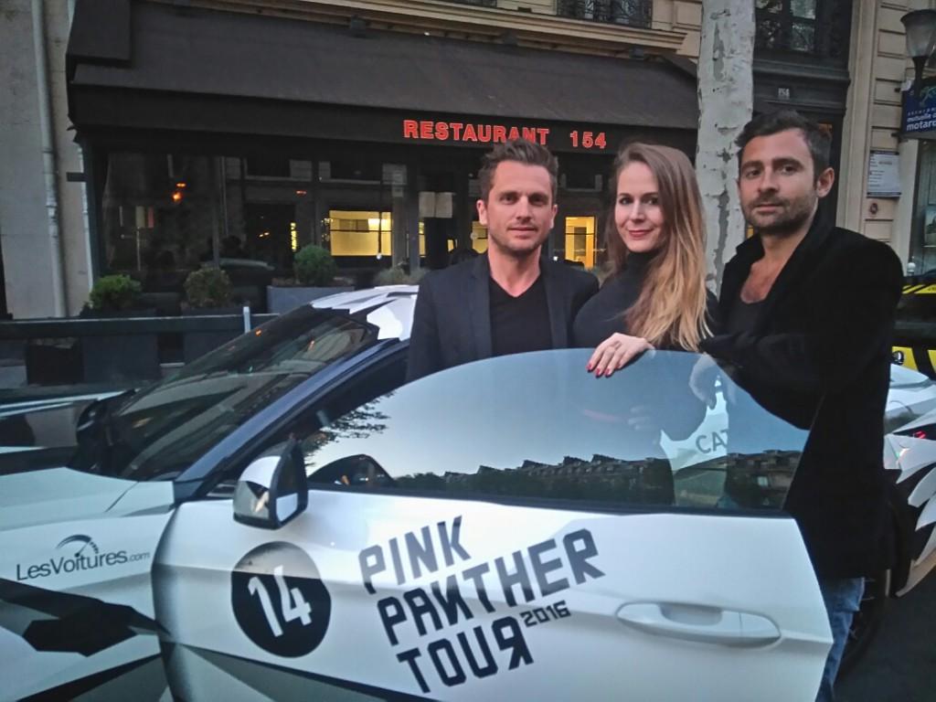 Pink Panther Tour - lesvoitures.com - paris frivole