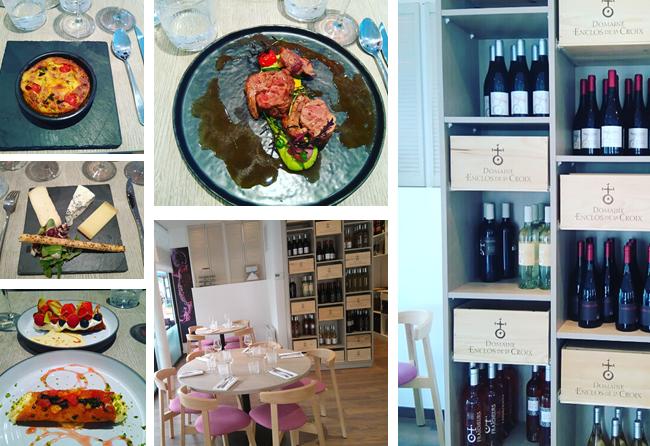 Restaurant l'Enclos de la Croix – accords mets vins – cuisine généreuse – Paris 16