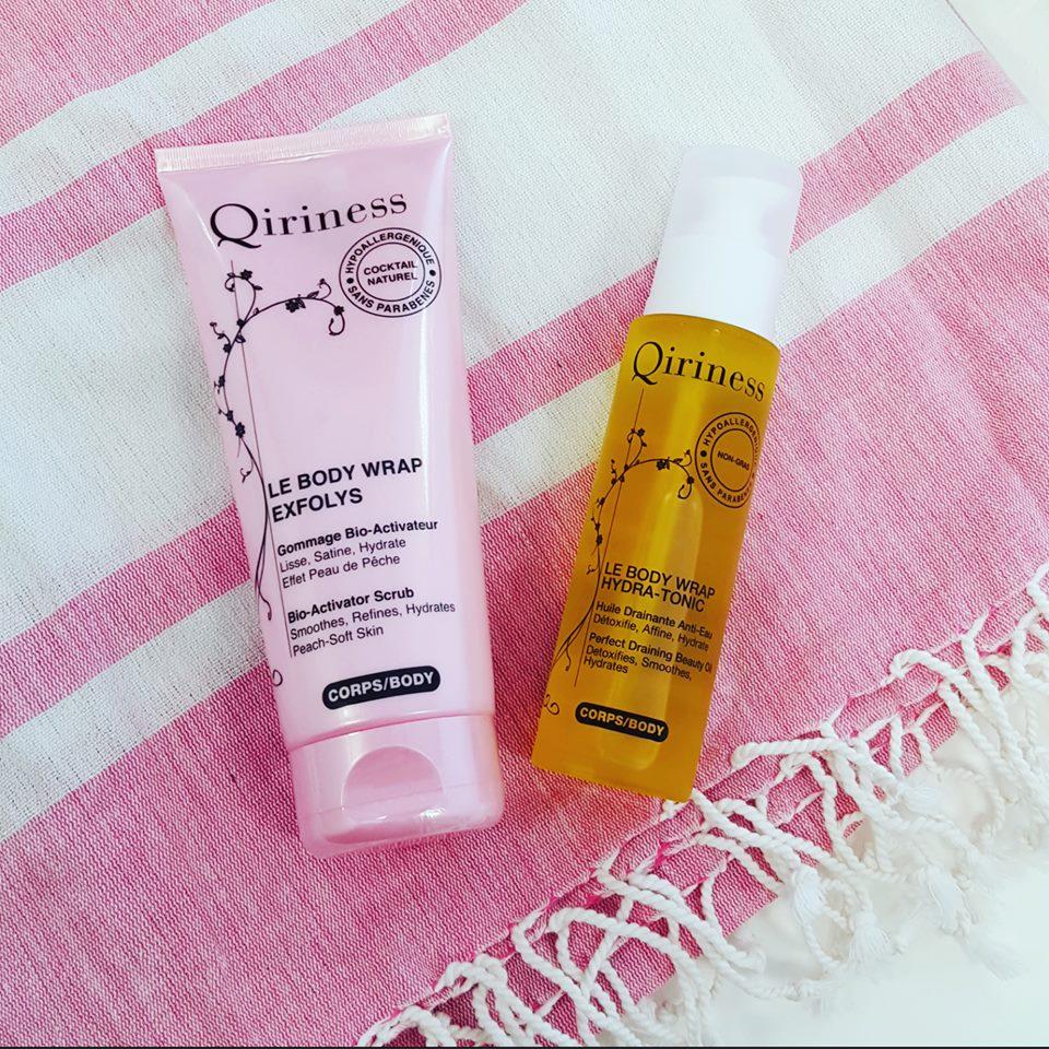 Qiriness - body wrap hydra tonic - remède détox et minceur