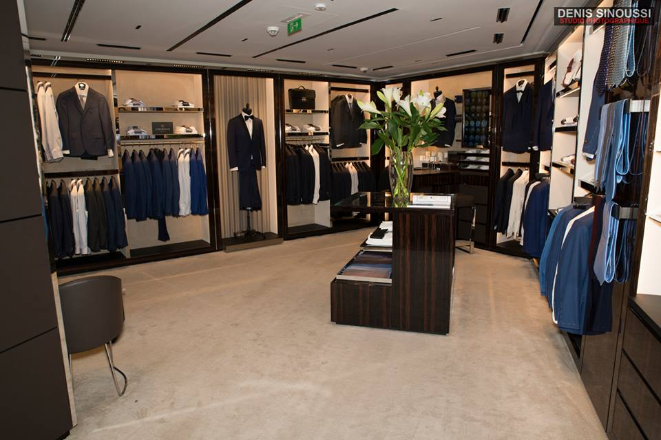 Maison Corneliani - mode homme paris
