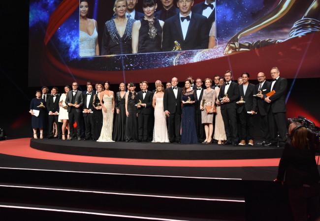 Clôture du 56ème festival international de la télévision de Monte-Carlo