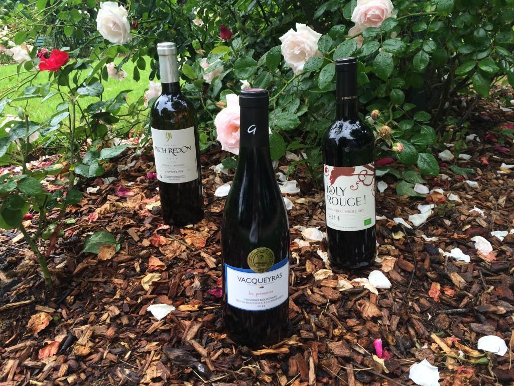 sélection de vins bio