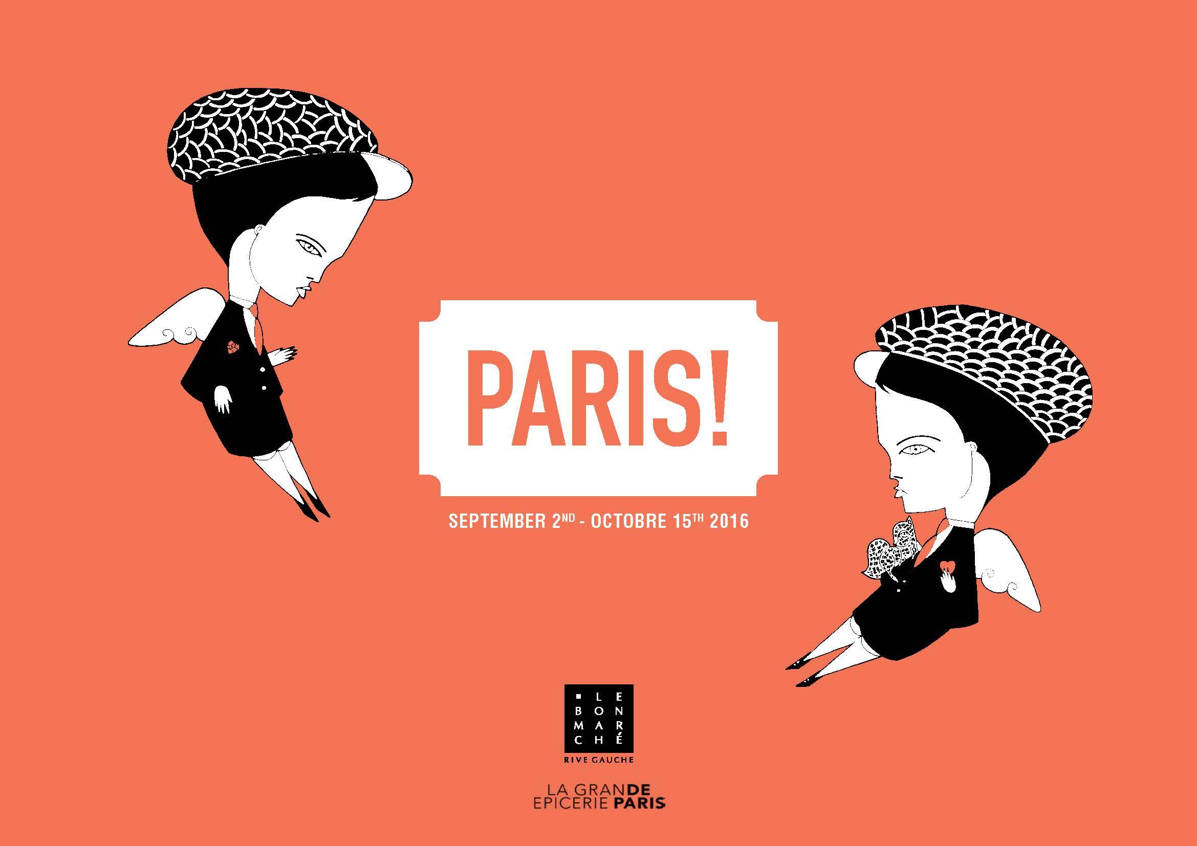 Exposition paris au bon march rive gauche du 2 09 au for Adresse paris expo