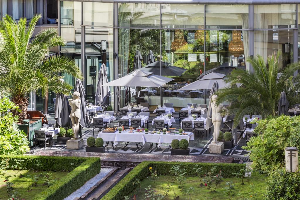 Terrasse Patio Andalou 4 - Hotel du Collectionneur