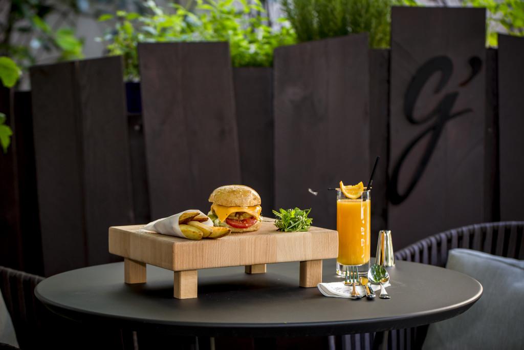 Veggie burger_Hotel du Collectionneur