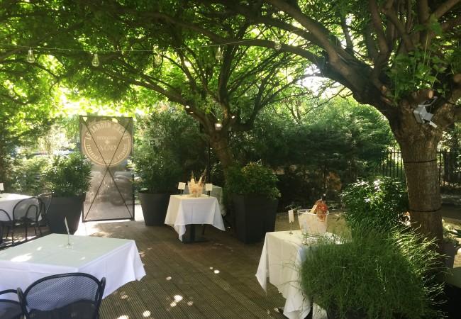 Le Jardin Caché – Domaine de Peyrassol – restaurant La Gare