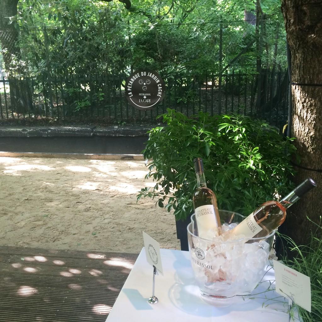 Restaurant la gare - terrasse du Domaine Peyrassol