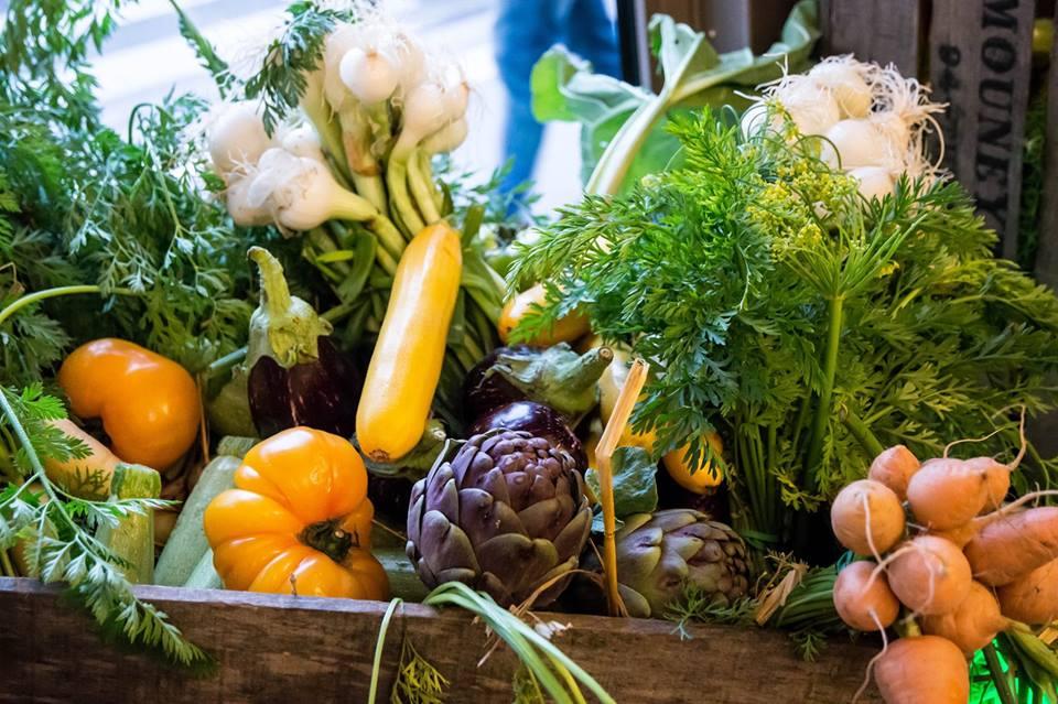 légumes détox - la coupole paris