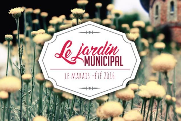 Le Jardin Municipal – bar éphémère – jardin secret en plein coeur du Marais