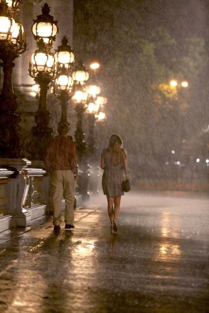 midnight in paris rain - paris romance