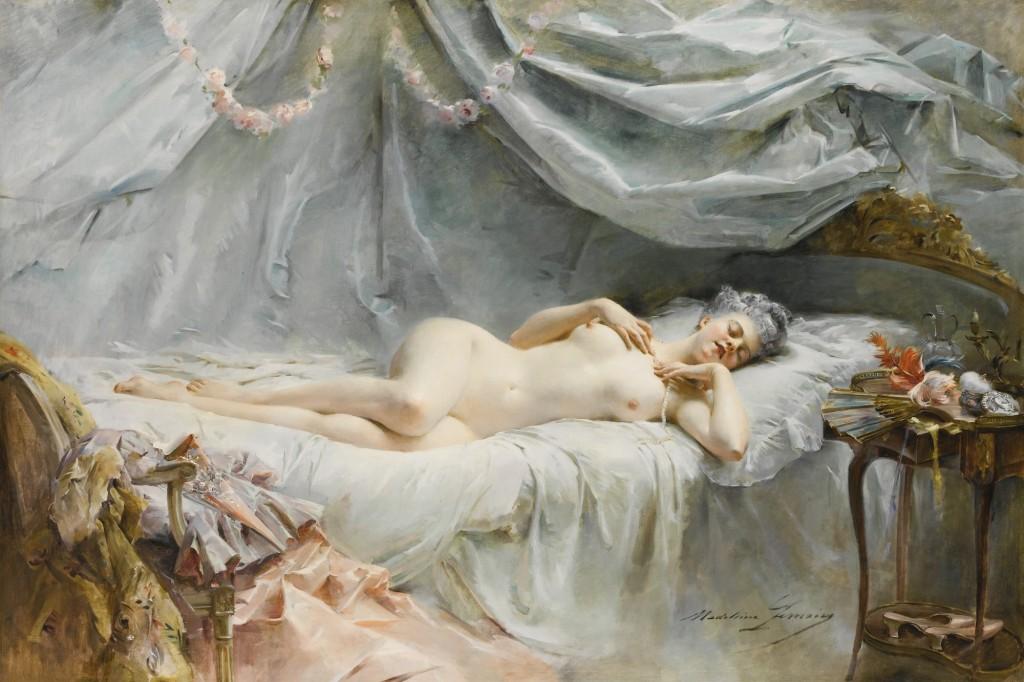 Le sommeil de Manon - Madeleine Lemaire