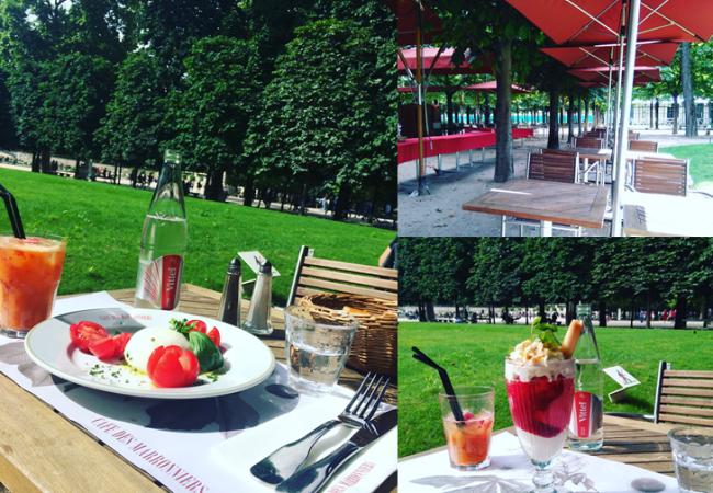 Le Café des Marronnier – la belle terrasse du Jardin des Tuileries