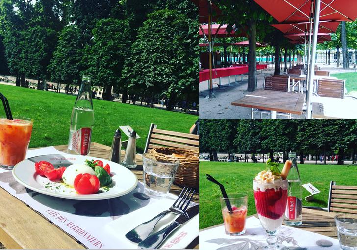 Le caf des marronnier la belle terrasse du jardin des for Jardin des tuileries 2016