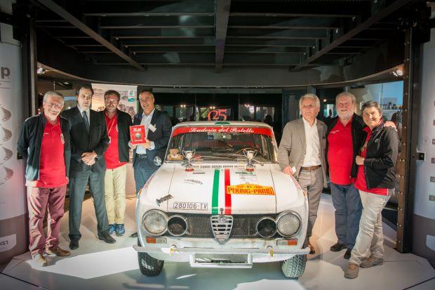 Alfa Romeo de retour sur le Pékin – Paris / l'emblématique Giulia
