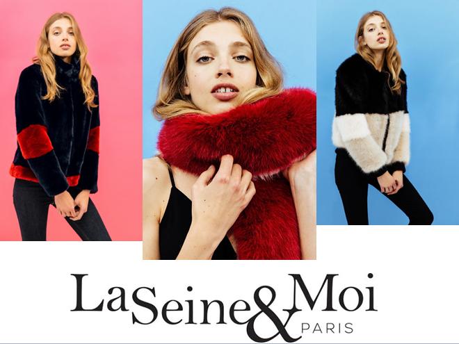 La Seine & Moi - fausse fourure - couture