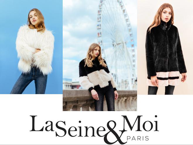 La Seine & Moi - fausse fourure - créatrice mode