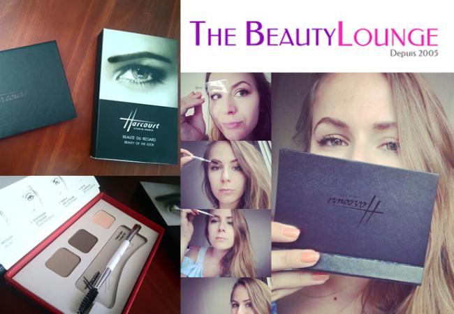 Make up Studio Harcourt – palette sourcils – The Beauty Lounge