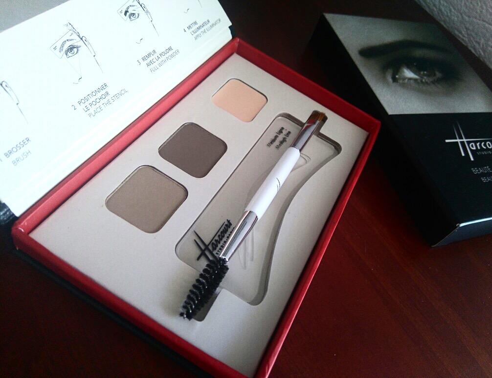 Maquillage Studio Harcourt - palette sourcils