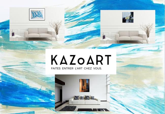 KAZoART – galerie d'art en ligne – dénicheur de jeunes talents