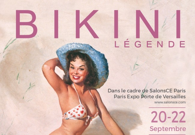 Exposition exclusive à Paris : Bikini Légende (20 au 22 septembre 2016)
