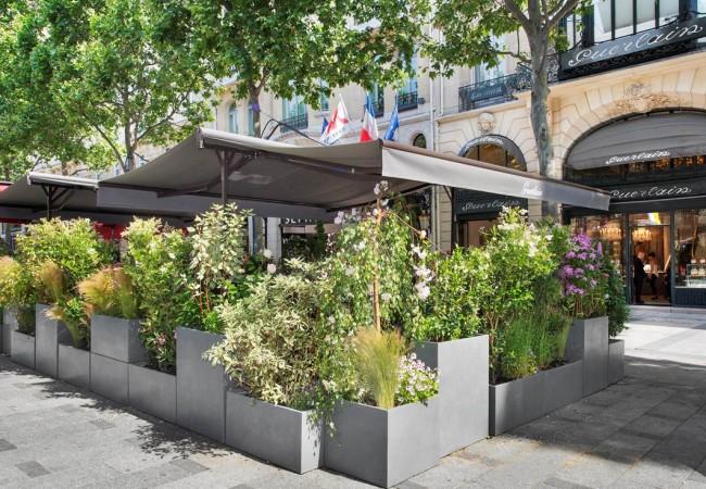 Le 68 Guy Martin et la Maison Guerlain – terrasse sur les Champs-Elysées
