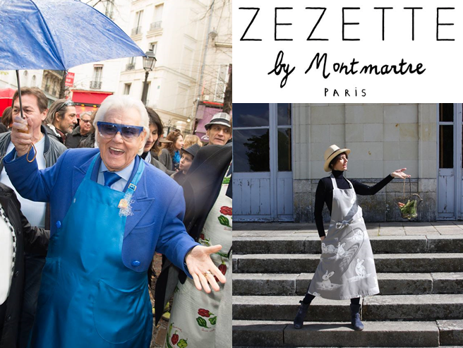 Zezette by Montmartre - tablier - Michou