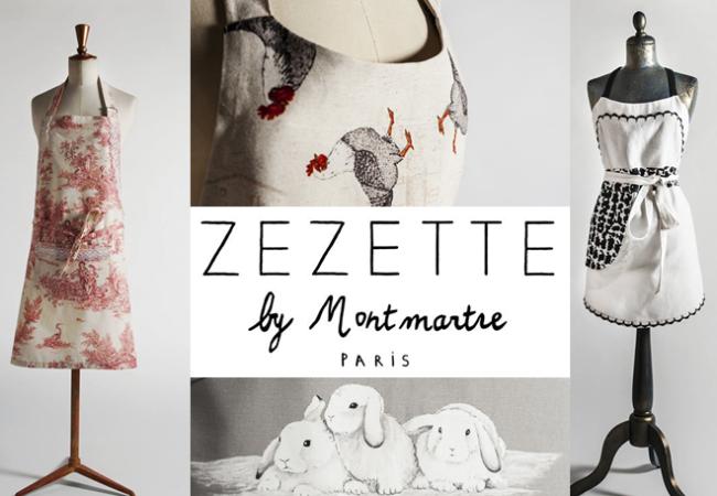 Zezette by Montmartre – tabliers faits main – Zélia Sur la Terre Comme au Ciel