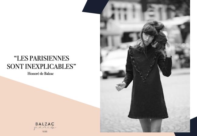 Balzac – le look de la Parisienne – collection automne/hiver 2016-2017