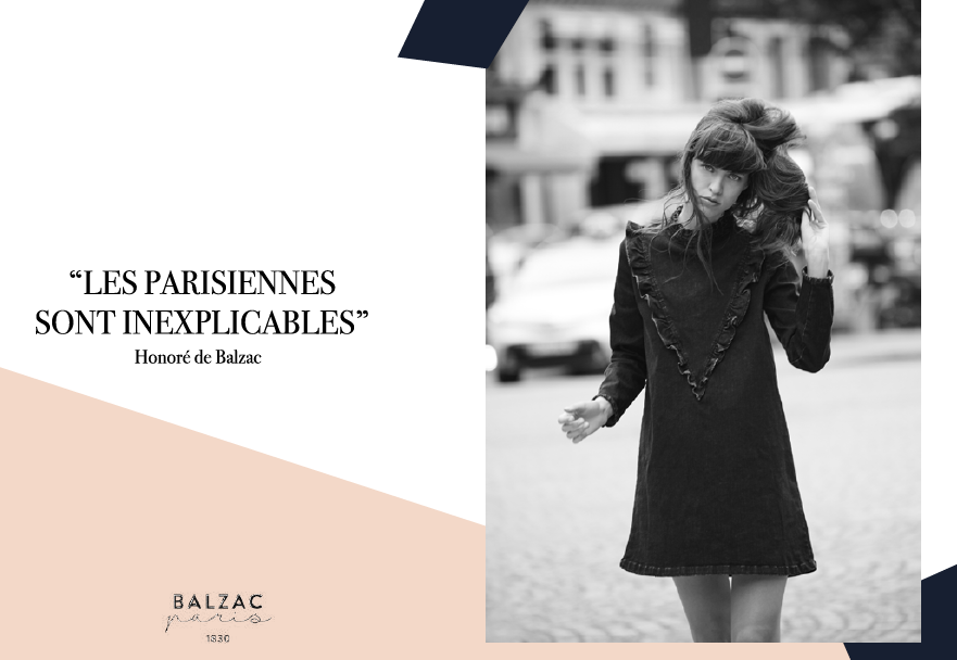 balzac le look de la parisienne collection automne. Black Bedroom Furniture Sets. Home Design Ideas