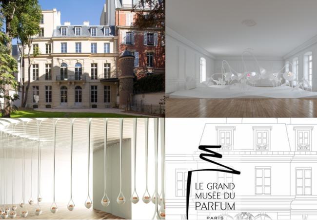 Ouverture du Grand musée du Parfum – rue du Faubourg Saint- Honoré