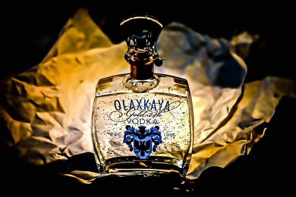 Vodka russe prestigieuse Olaxkaya