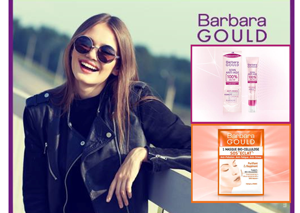Barbara Gould – innovations beauté – le 1er soin anti-âge 100% ACTIF
